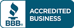 Accredited with the Betterr Business Bureau